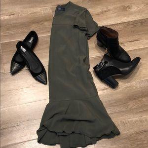 Green Basic Gap Dress - Size M